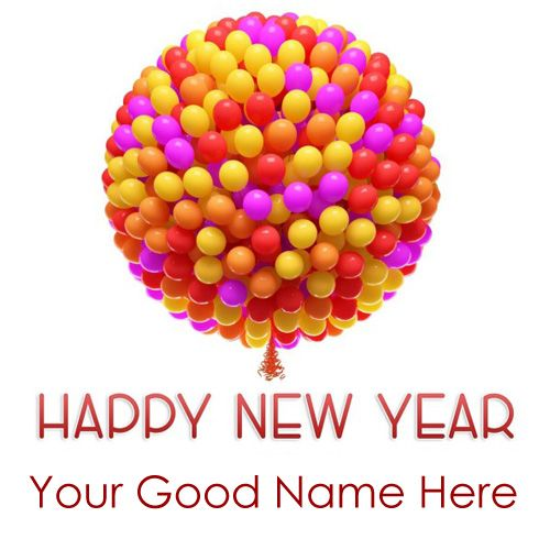 Special 2021 New Year Wishes Card On Write Your Name - Name Create Cards