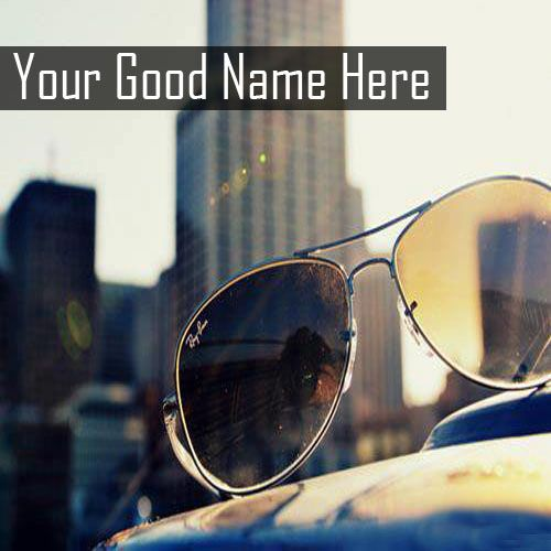Best New Stylish Sun Glasses DP Name Profile Pictures - Cool Name Profile
