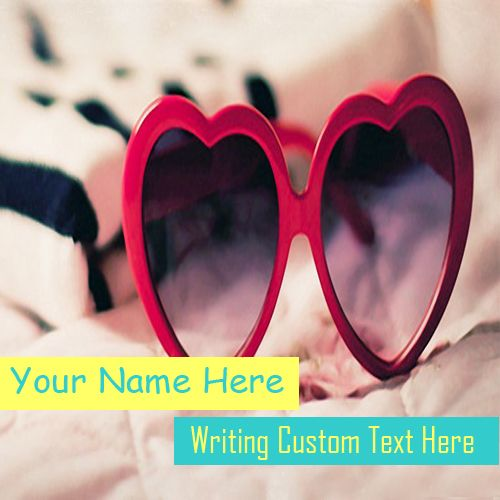 Heart Shaped Cool Sunglasses Name Pictures - Stuff Name Photos