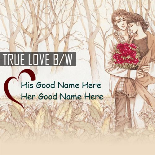 True love romantic couple drawing images with name pictures download free