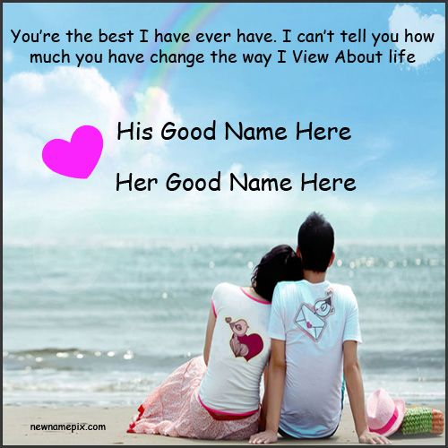 Romantic Best Love Couple Name Pictures - Couple Name Profile