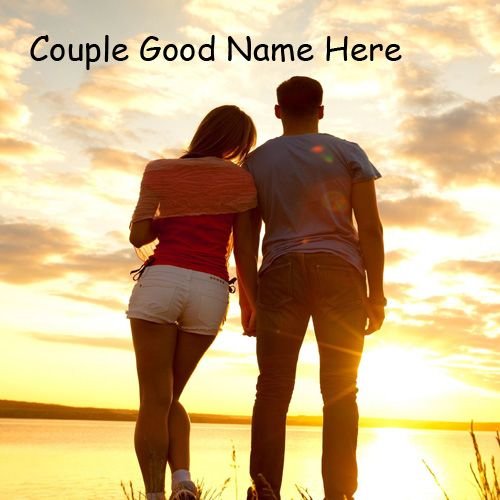 Love Best Couple Romantic Name Pictures - Couple Name Pics
