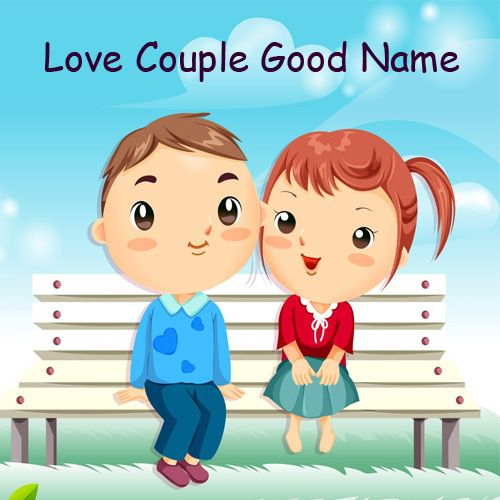 Cute Romantic Love Couple Name Pictures - Couple Name Pics