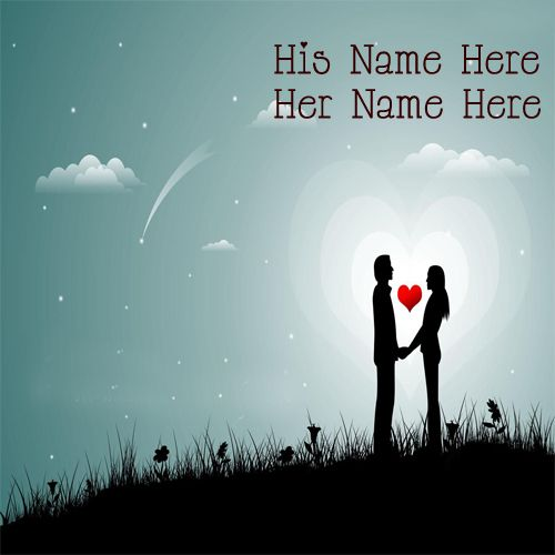 Romantic Love Couple Best Latest DP Name Pictures - NameCouplePics