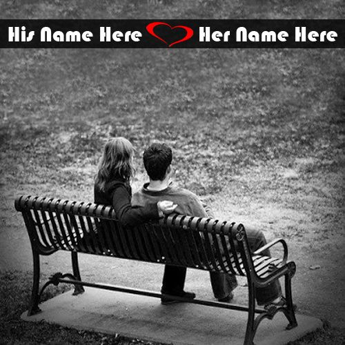 Best Love Couple In Beach Name Pictures - NameCouplePics