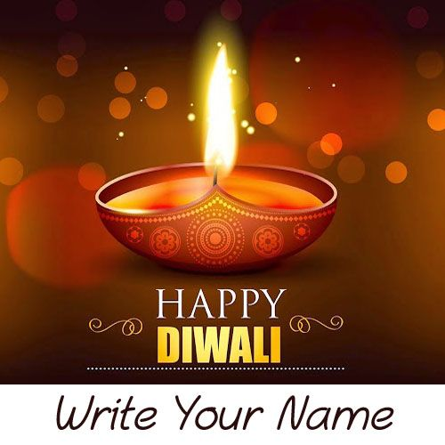 2020 Best New Diwali Greeting Card With Name Pictures