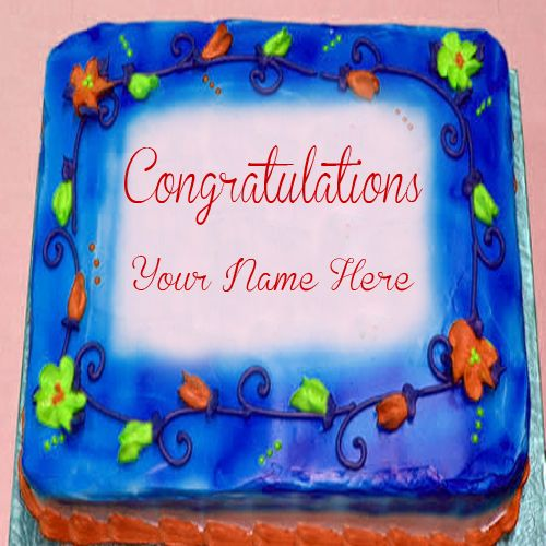 congratulations cake with name wishes status download online free