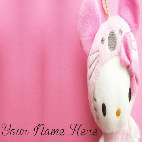 Write Your Name On Kitty Cute Profile Pictures - New Cute Profile
