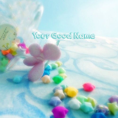 Sweet Little Stars Cute Profile With Name Picture - Cute Name Profile