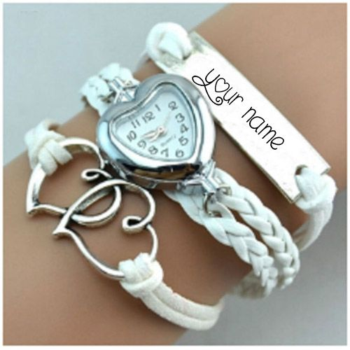 hand watch heart bracelet for girl name pics online editor free
