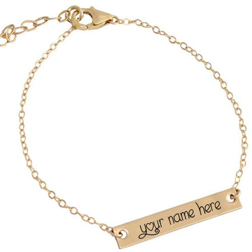 Gold chain pendant for girl name write jewelry profile pictures