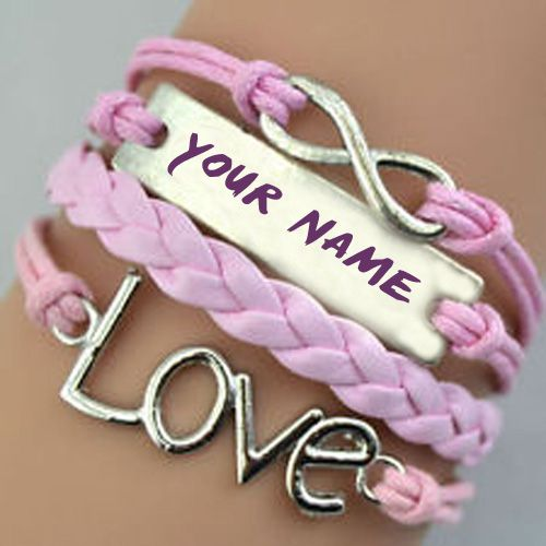 Love hand bracelet profile with my name picture download free