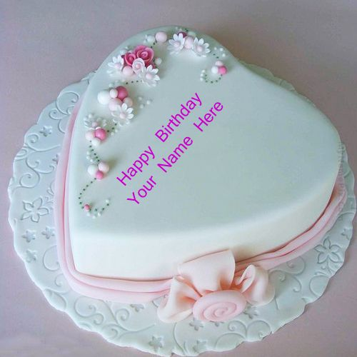 Name birthday cake for special love wishes heart image download