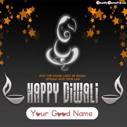 2020 Happy Diwali Images With Name Create Photo Maker
