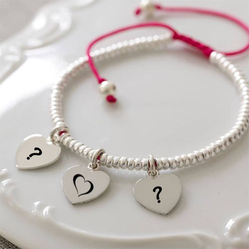 New romantic couple name first letter love hand bracelet profile picture