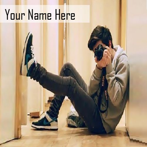 Camera cool stylish boy pictures on name writing profile create free