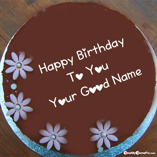 Latest best birthday cake wishes images with name write profile pics