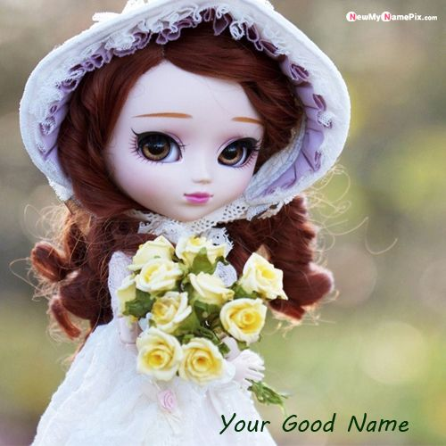 Cute Barbie Doll With Yellow Flowers Names Pictures - Barbie Doll Profile