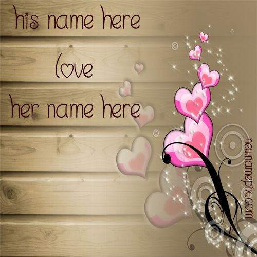 Fall In Love Romantic Pics His And Her Name Profile - Name Profile Love