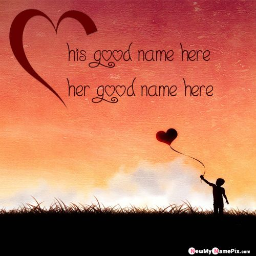 Feel My Love Couple Name On Pictures - Romantic Name Profile