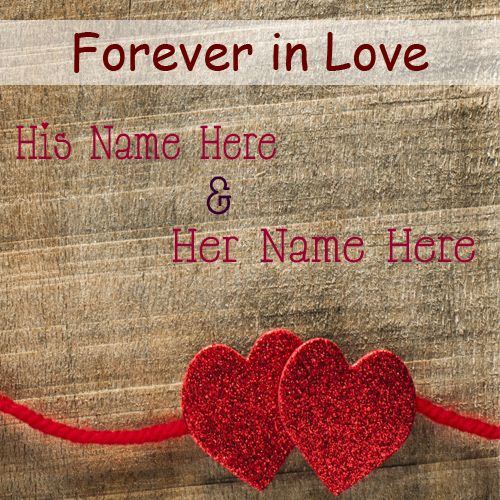 Forever In Love Heart Couple Name Pictures - Love Name Pix