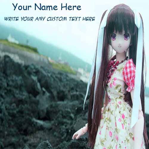 Cute Dolls Purple Eyes With Stylish Hair Name Pix - Cute Name Profile