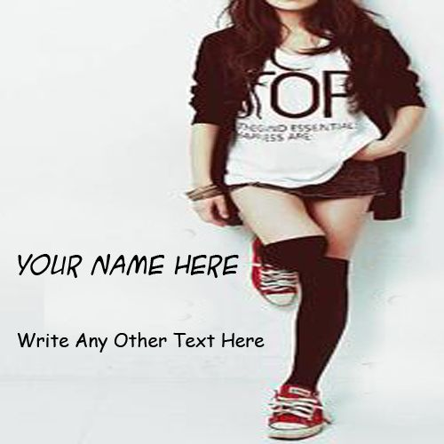 Cool Stylish Attitude Girl Name DP Profile Pictures - My Name Pix