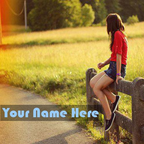 Cool Stylish Girls Latest DP Name Profile Picture - New My Name Pix