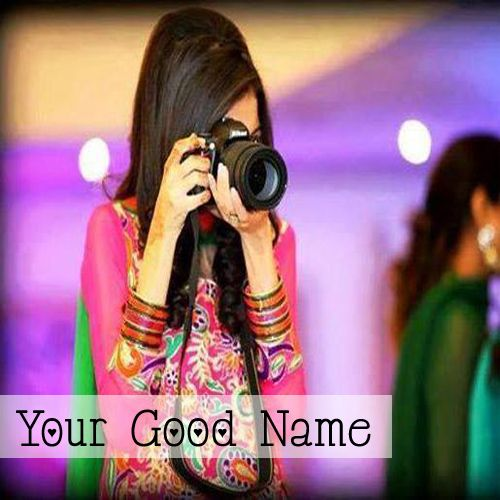 Lovely Camera Girls DP Name Pictures - Name With Profile