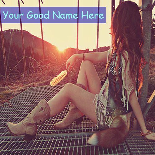 Sad Girl Beautiful Unique DP Name Picture - Online Create Profile