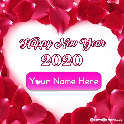 2020 Happy New Year Greetings Images On Your Name Pics - New Year Photo