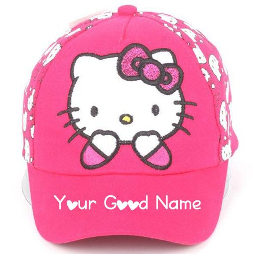 Cute Girl Cap On Write Your Name Profile - Online Create Image