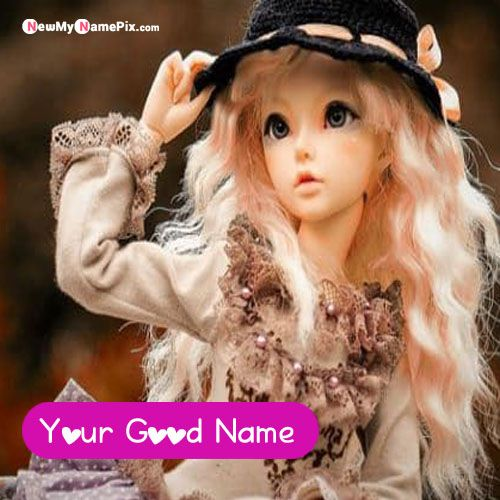 Awesome Lovely Cute Dolls With Name DP - Whatsapp Profile Pictures