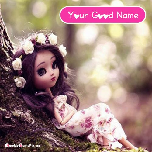Awesome Stylish Look Cute Dolls Name DP Pictures - Doll Profile Pic