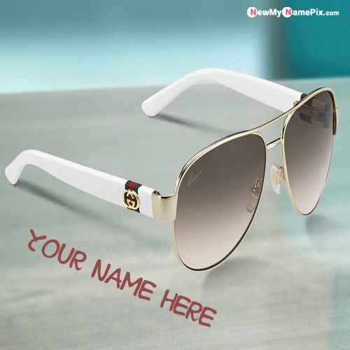 Cool Sunglasses Stylish Name Profile Picture - My Name Pix Free
