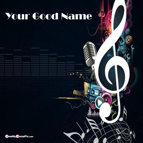 Abstract Music Cool New DP Name Pictures - My Name Pix