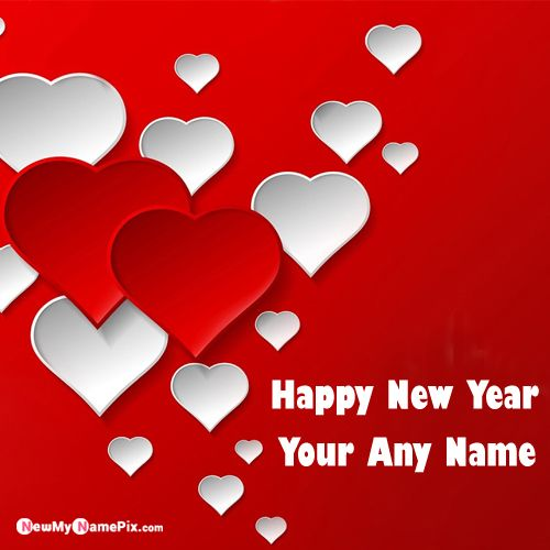 Unique Happy New Year 2020 Wishes Card With Name Photo - Create Name Image