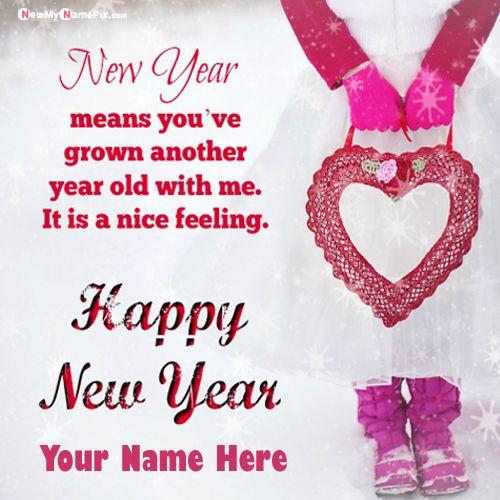 Create Name Write Happy New Year 2020 Image Free Name