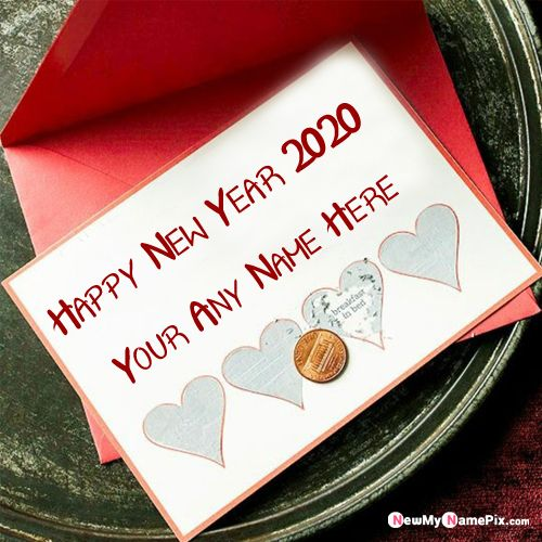 Special My/Your Name Happy New Year 2020 Images Online