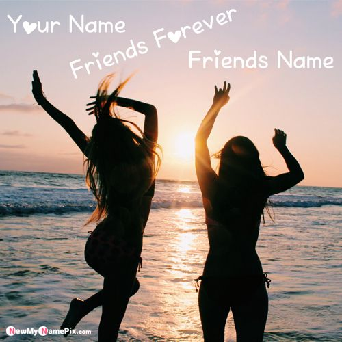 I Live In Crazy Best Friends DP With Name Pictures - New My Name Pix