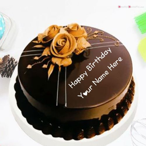 Birthday wishes small cake with name card pictures create online