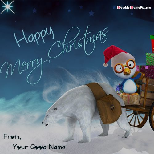 Special Name Write Christmas Wishes Images Create Online Free