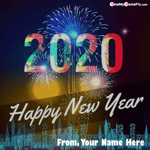 Beautiful Happy New Year 2020 Pictures On Name Write
