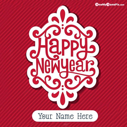 Happy New Year 2021 Photo With Name Create Cards Free