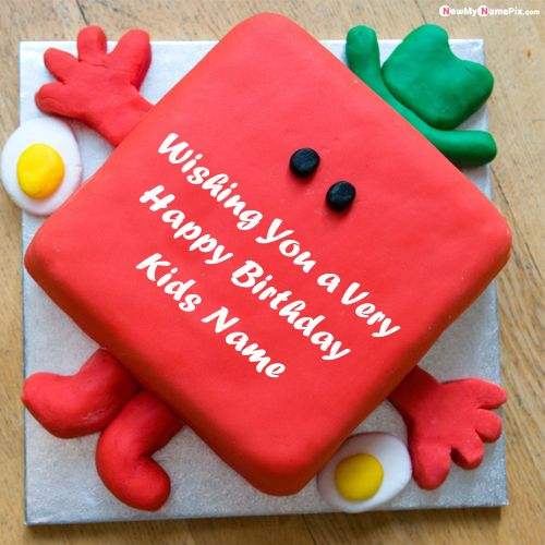 Awesome Funny Birthday Cake With Kids Wishes Name Pictures Create Free Funny Birthday Cards Online Alyptdamsfinfo