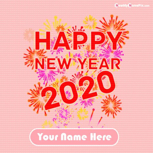 Happy New Year 2020 Images With Name Download Free