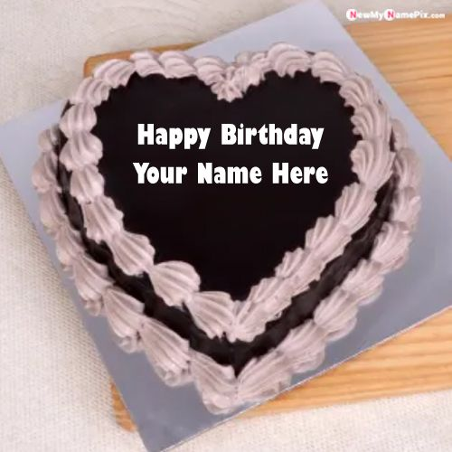 Happy Birthday Cake With Your Name And Photo Create Pictures