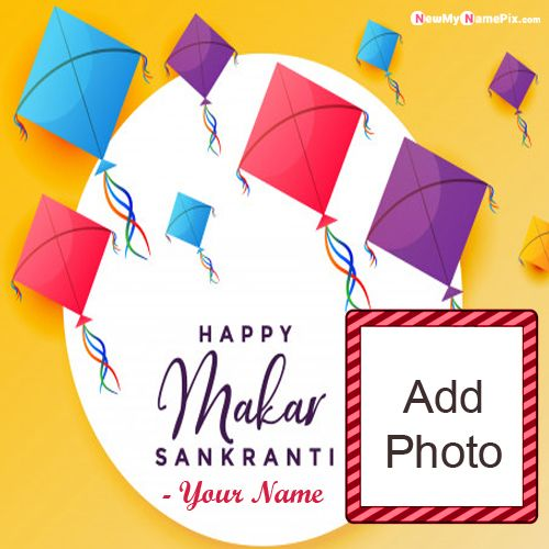 Make Your Name And Photo Generate Sankranti Wishes Pics