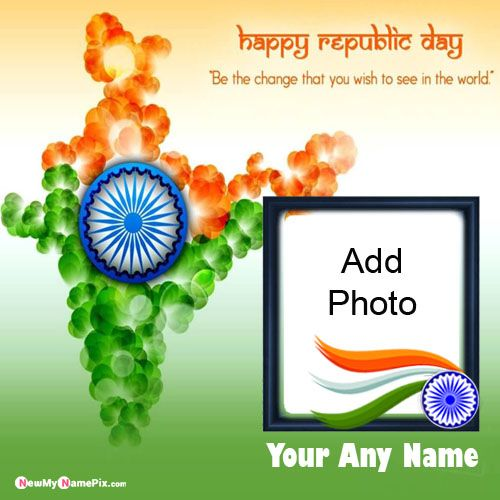 I Love India Profile Name And Photo Add Republic Day Pictures
