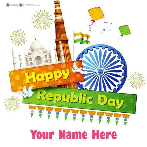 Whatsapp Status India Republic Day With Name Wishes